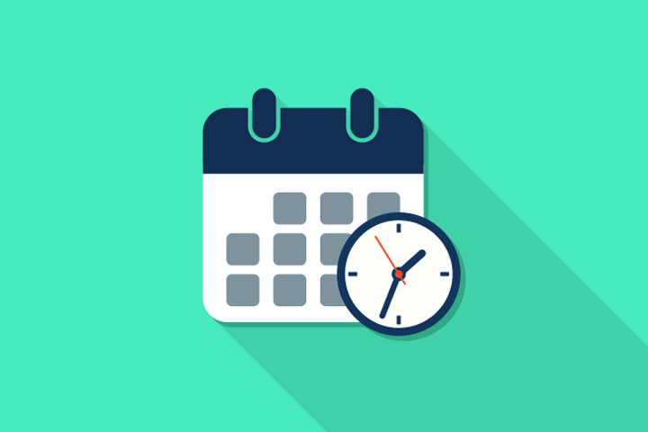 Work Calendar for How to Work from Home