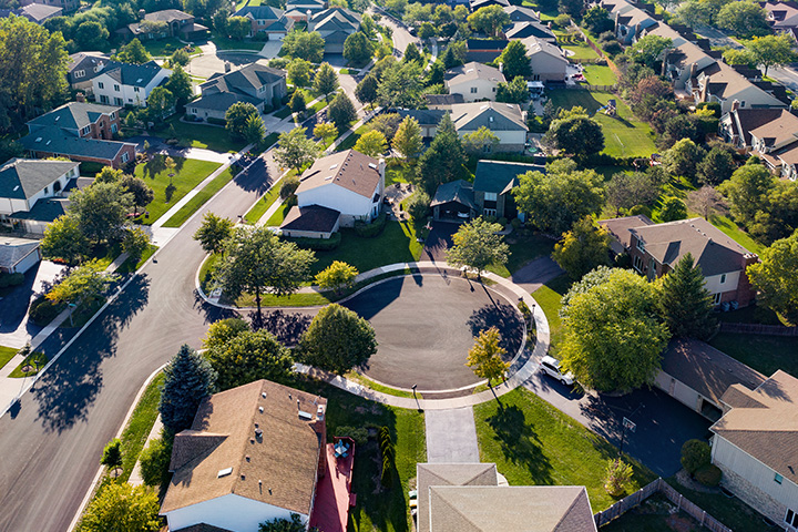 Neighborhood Birdseye View