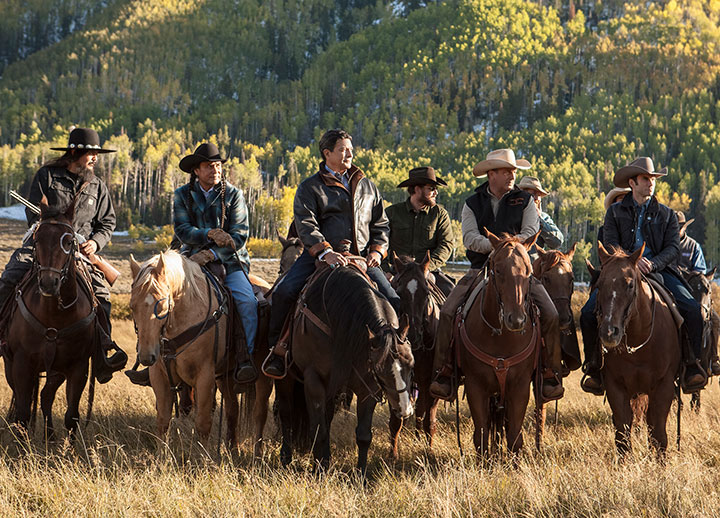 Yellowstone streaming on Paramount Network
